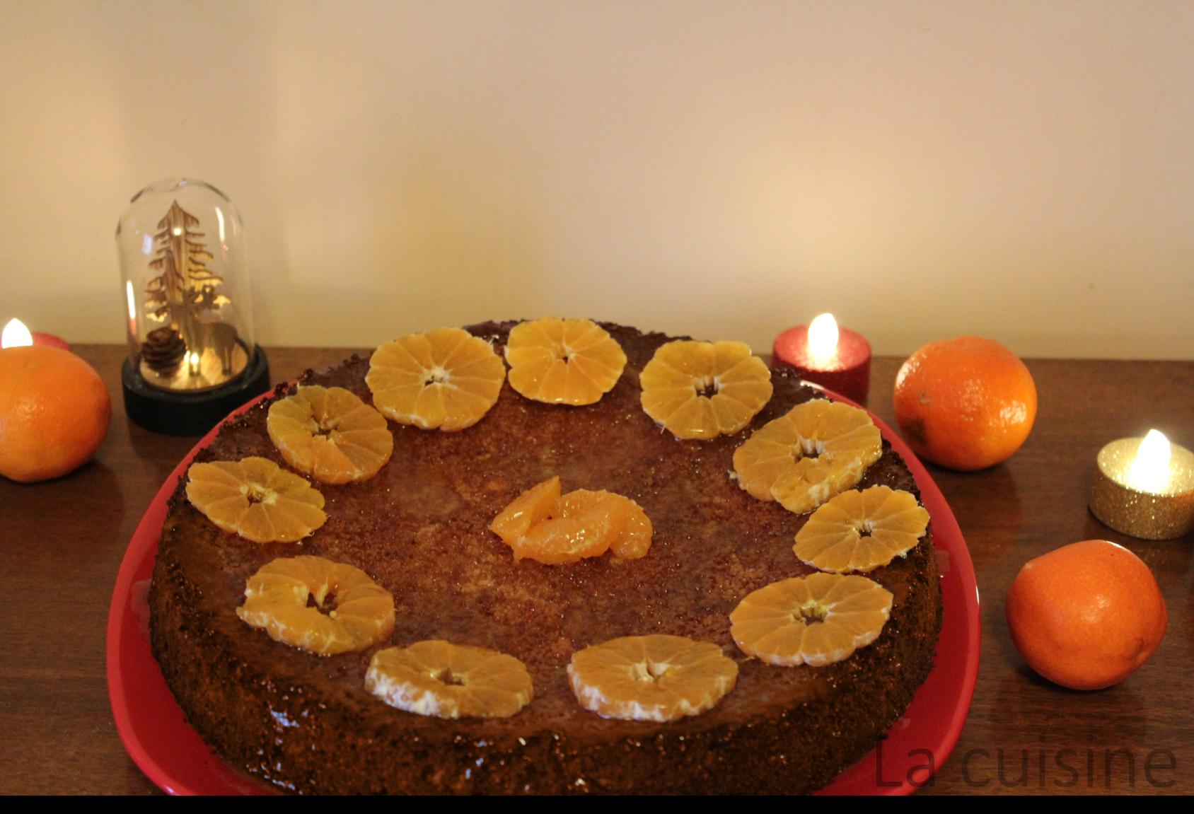 Торта с мандарини