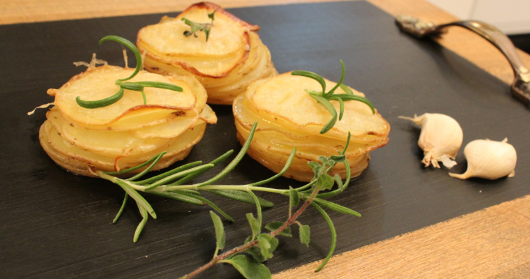 Картофи с подправки във формички за мъфини