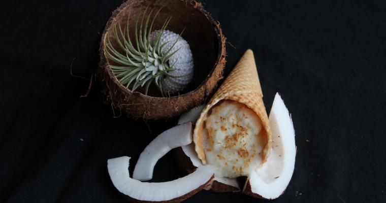 Ананасов сладолед с кокос