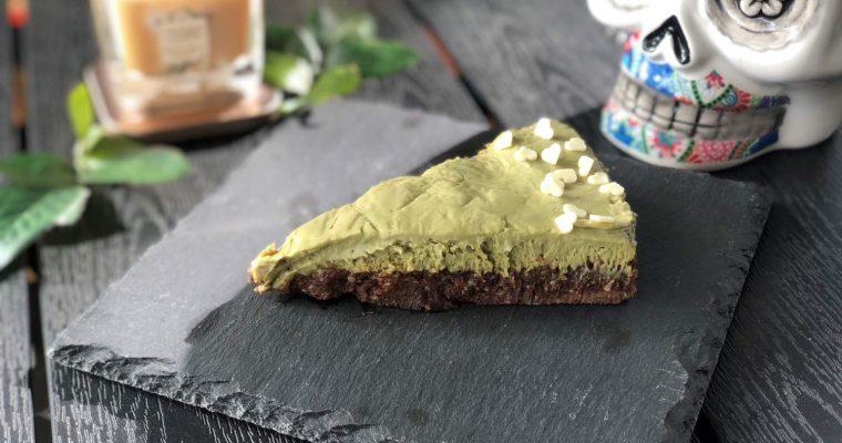Здравословна торта с матча [Веган]